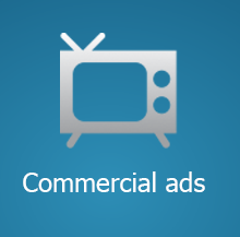 Commercial ads