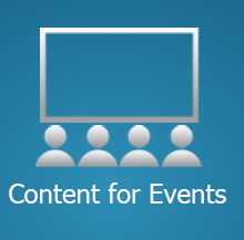 Content for events